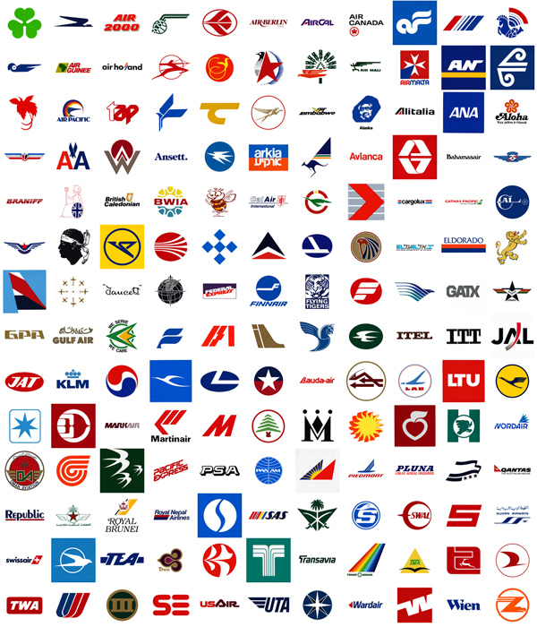 and ask him to get me all international airline logos